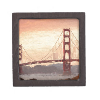Golden Gate Inspiration Keepsake Box