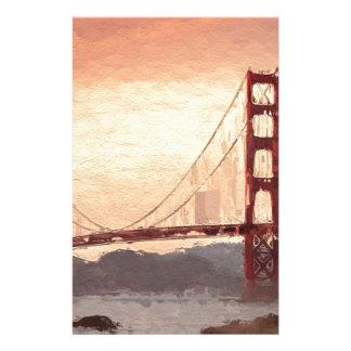 Golden Gate Inspiration Stationery