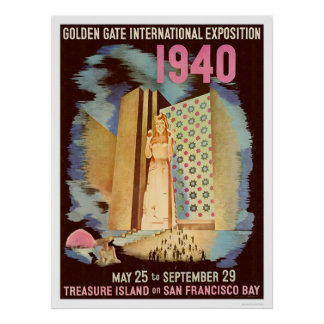 Golden Gate International Exposition 1940 Poster
