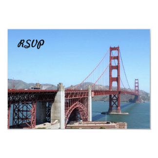 """Golden Gate Invitación 3.5"""" X 5"""""""
