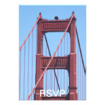 Golden Gate Invitation
