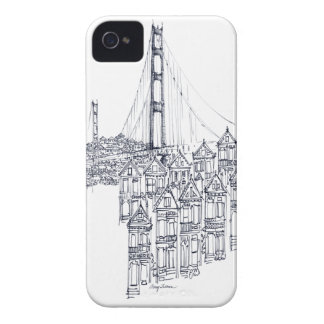 Golden Gate iPhone 4 Cover