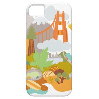 Golden Gate iPhone 5 Carcasa