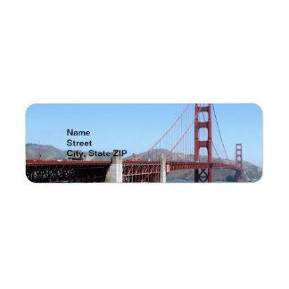 Golden Gate Label