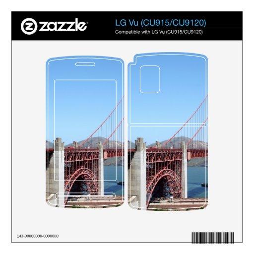 Golden Gate LG Vu Calcomanía