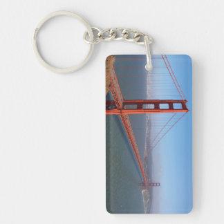Golden Gate National Recreation area Rectangle Acrylic Key Chain