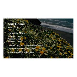 Golden Gate Nat'l Recreation Area - Wild Flowers P Business Card Templates