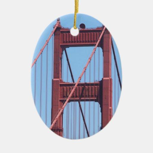 Golden Gate Ornament