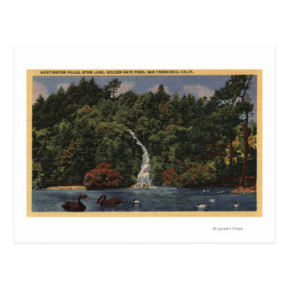 Golden Gate Park, caídas del lago stow, Huntington Postal