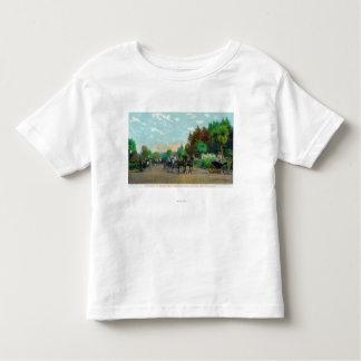 Golden Gate Park Driveway View Toddler T-shirt