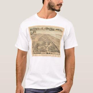 Golden Gate Park Panoramic Map 1892 (0644A) T-Shirt