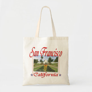 Golden Gate Park San Francisco Canvas Bags