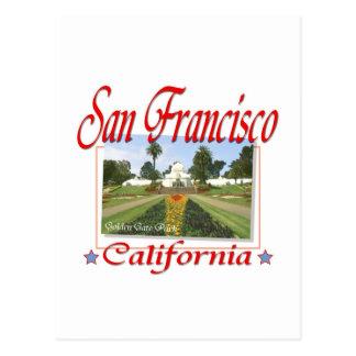 Golden Gate Park San Francisco Postales