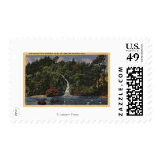 Golden Gate Park, Stow Lake, Huntington Falls Postage Stamp
