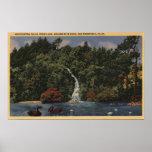 Golden Gate Park, Stow Lake, Huntington Falls Poster