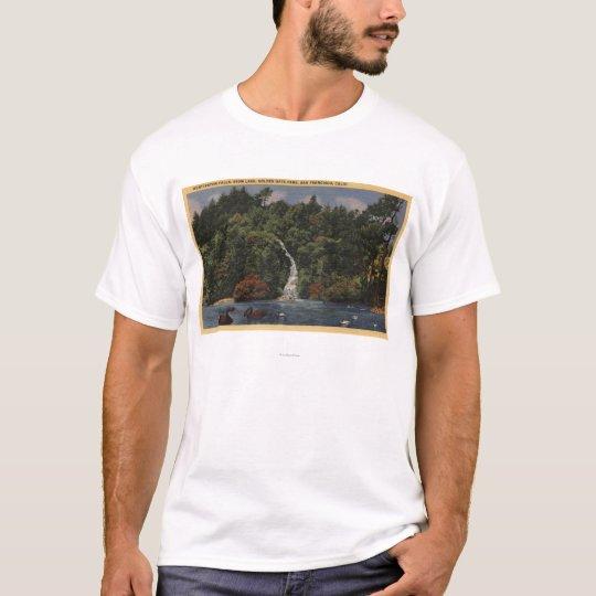 Golden Gate Park, Stow Lake, Huntington Falls T-Shirt