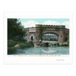 Golden Gate Park Strawberry Hill Lookout View Post Cards
