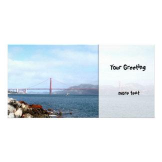 Golden Gate Customized Photo Card