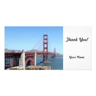 Golden Gate Photo Card Template