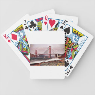 Golden Gate Bicycle Poker Cards