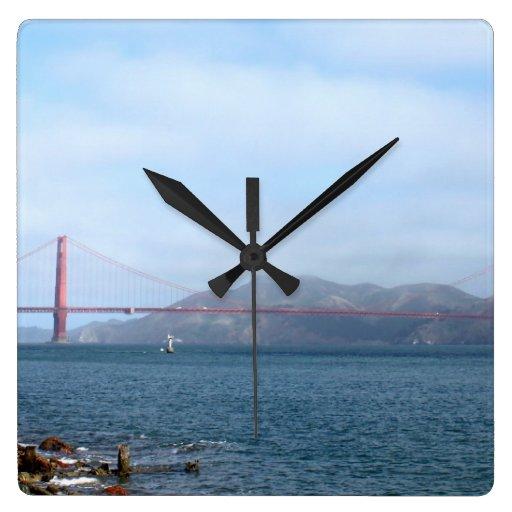 Golden Gate Relojes De Pared