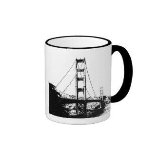 Golden Gate Ringer Mug
