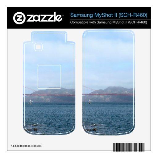 Golden Gate Samsung MyShot II Calcomanía