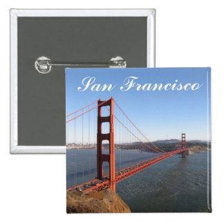 Golden Gate, San Francisco Button
