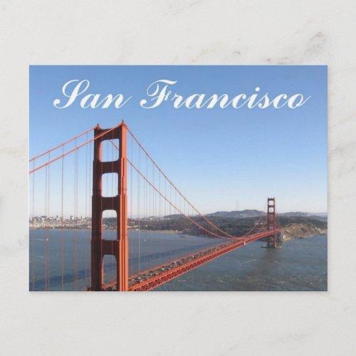 Golden Gate, San Francisco Postcard zazzle_postcard