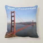 Golden Gate, San Francisco Throw Pillow