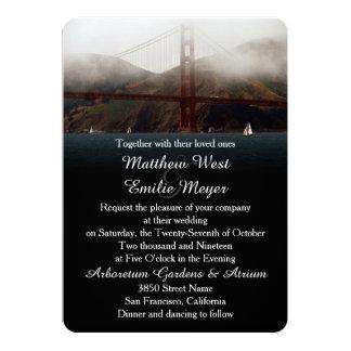 Golden Gate San Francisco Wedding Invitation