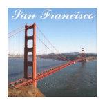Golden Gate, San Francisco Wrapped Canvas Print