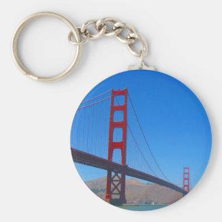 golden gate sf keychain