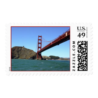 Golden Gate SF Postage Stamps