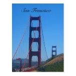 golden gate sf postcard