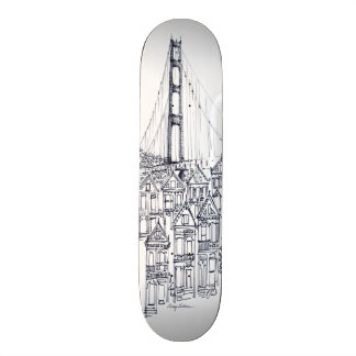 Golden Gate Skateboard Deck