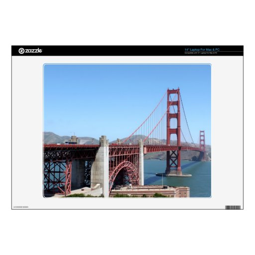 Golden Gate Laptop Skins