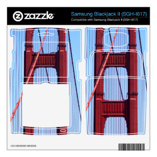 Golden Gate Samsung Blackjack II Skin