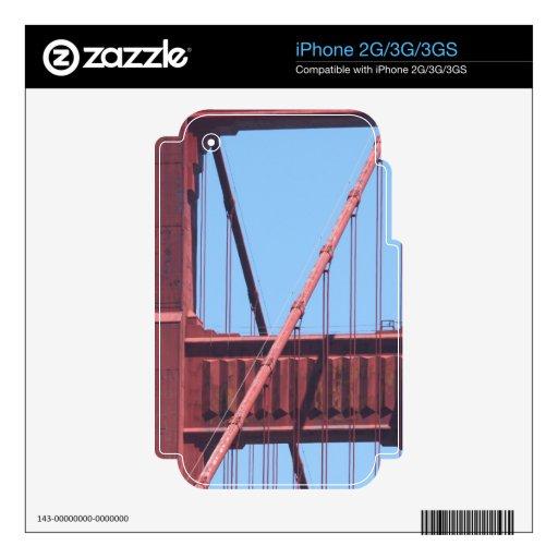 Golden Gate Skins Para iPhone 3GS