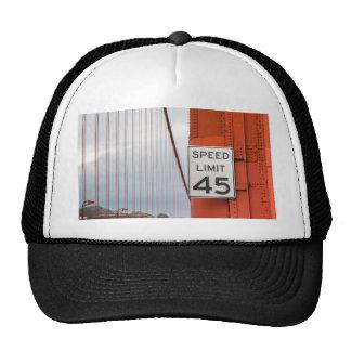 golden gate speed limit trucker hat