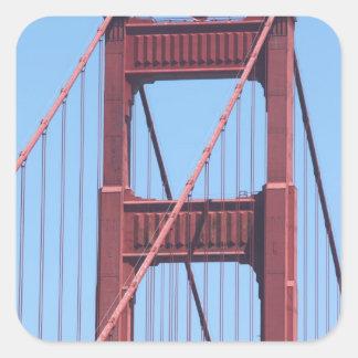 Golden Gate Square Sticker