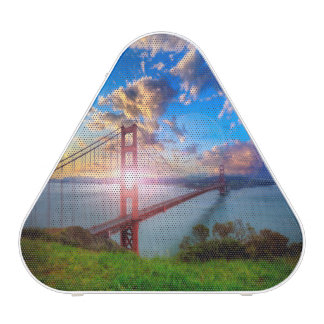 Golden Gate Sunrise Bluetooth Speaker
