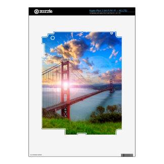 Golden Gate Sunrise iPad 3 Skins