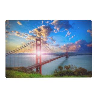 Golden Gate Sunrise Placemat