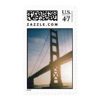 Golden Gate Sunset Postage