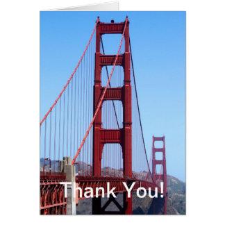 Golden Gate Tarjeta Pequeña