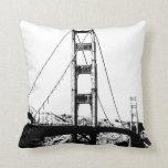 Golden Gate Throw Pillows