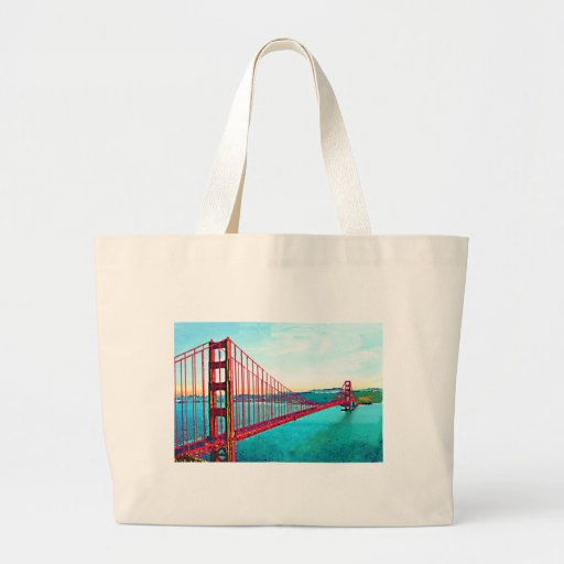 Golden Gate Tote Bags