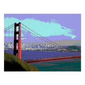 Golden Gate View1 Poster