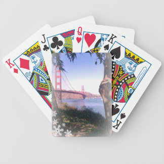 Golden Gate Winter : Playing Cards